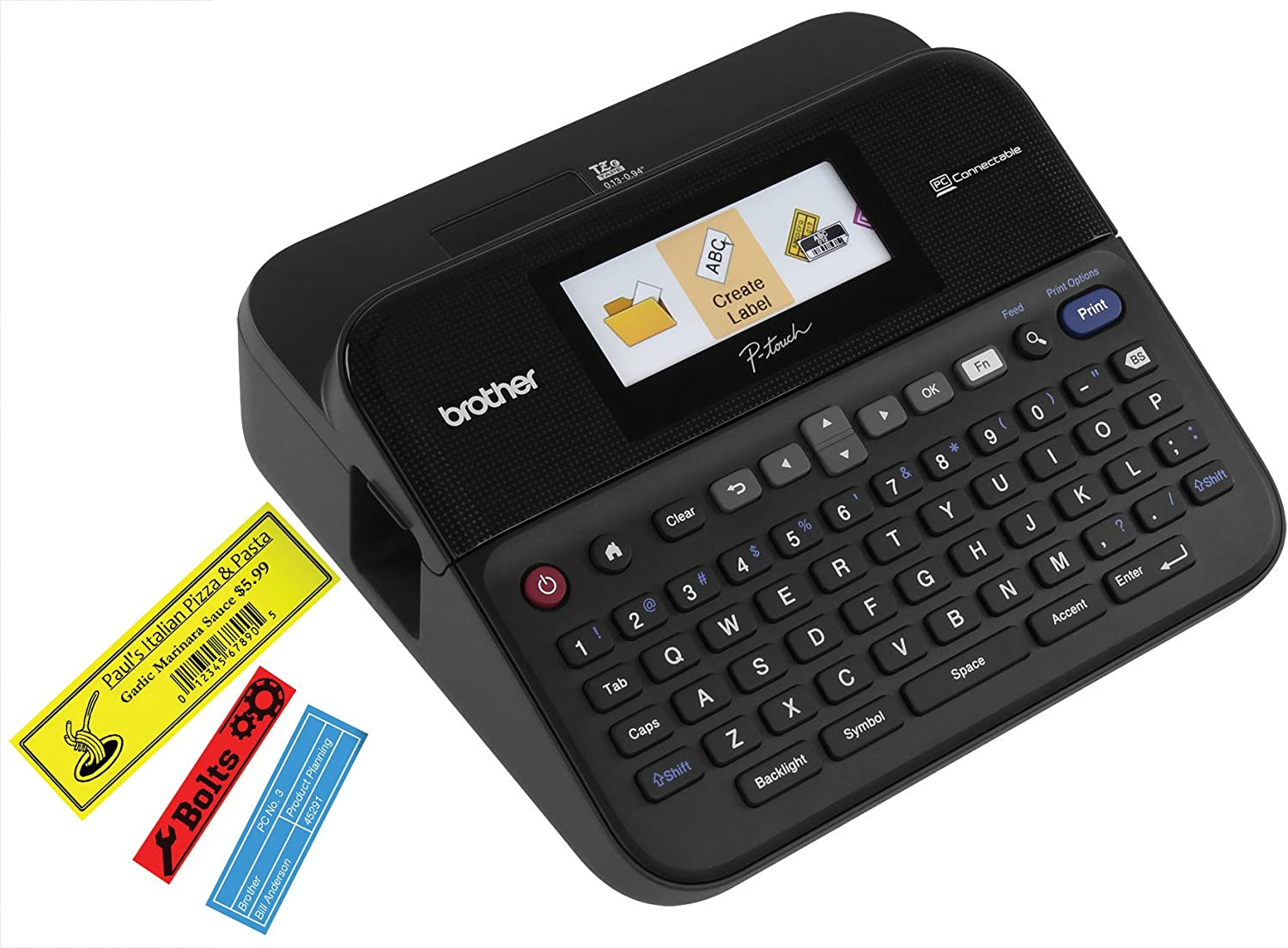 Brother P-touch PTD600 Label Maker