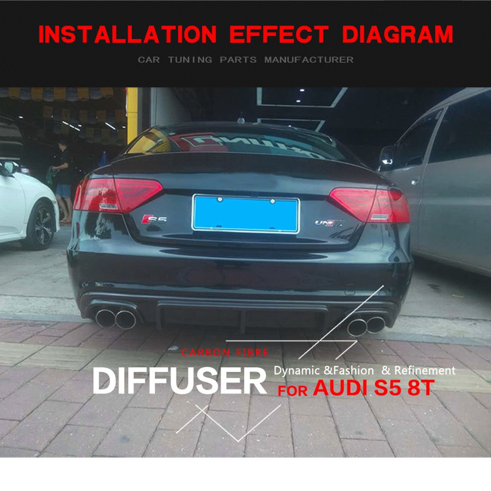 Audi S5 Trunk Fuse Diagram Electrical Wiring Diagrams 2013 A7 Box Explained Rear Diffuser A5