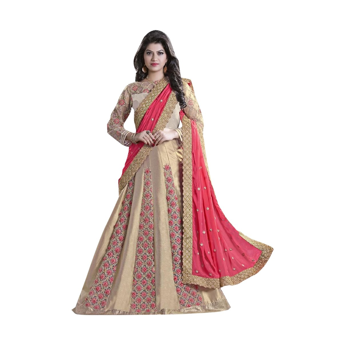 Bollywood Women Lehenga Choli Dupatta Ceremony Bridal Wedding Women Blouse Collection 617 24