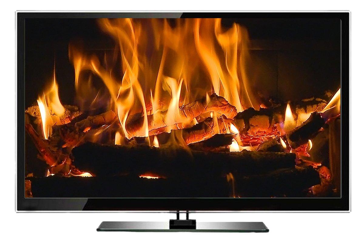 amazon com fire dvd fireplace xl extra long open hearth fires