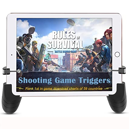 SN-RIGGOR Mobile Game Controller Sensitive Triggers Mobile Game Grip Tablet  Game Trigger Shoot and Aim Triggers for Fortnite/Pubg /Knives Out Shooting
