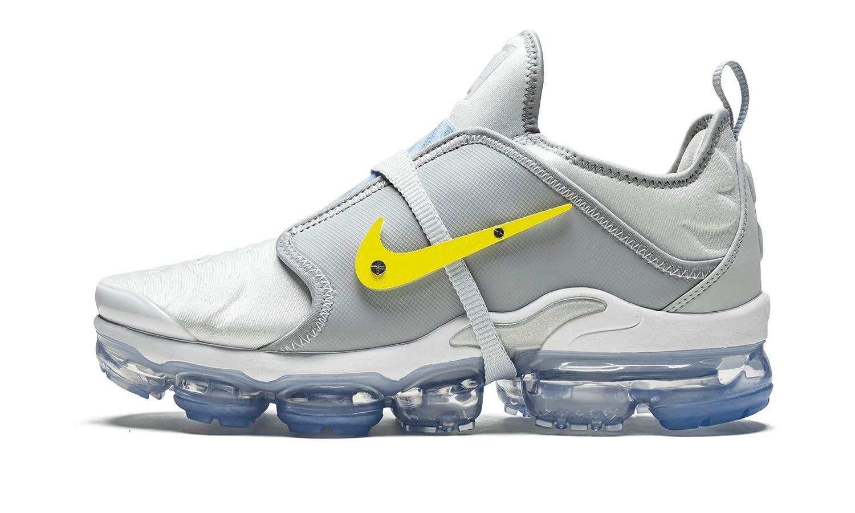 reputable site b16ad 99ba4 Amazon.com   Nike Air Vapormax Plus (Grey/Yellow-White 7 ...