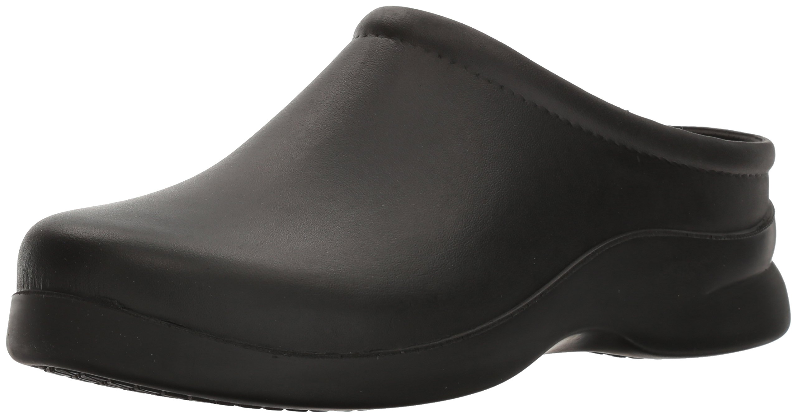 Klogs Men's Edge Comfort Slip On Casual Clog (9 B(M) US, Black)