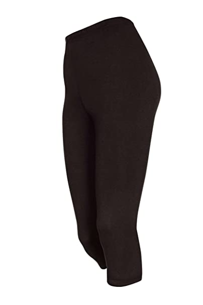 DeDavide 2 Stück Damen 3 4 Hosen Radlerhosen Capri aus Baumwolle, 16  Amazon .de  Bekleidung 28f6816e01