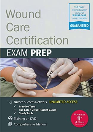 Amazon.com: Wound Care Certification Exam Prep Package: Kim Saunders ...