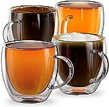 Stone & Mill Double Glass Americano Coffee Cups
