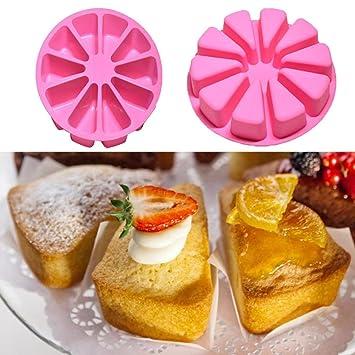 hunpta DIY sandía molde de silicona Candy Chocolate jabón molde para hacer cupcakes molde A