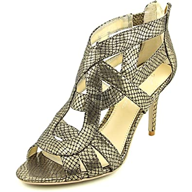 1fc182a45c Image Unavailable. Image not available for. Color: Marc Fisher Nala3 Womens  Textile Dress Sandals ...