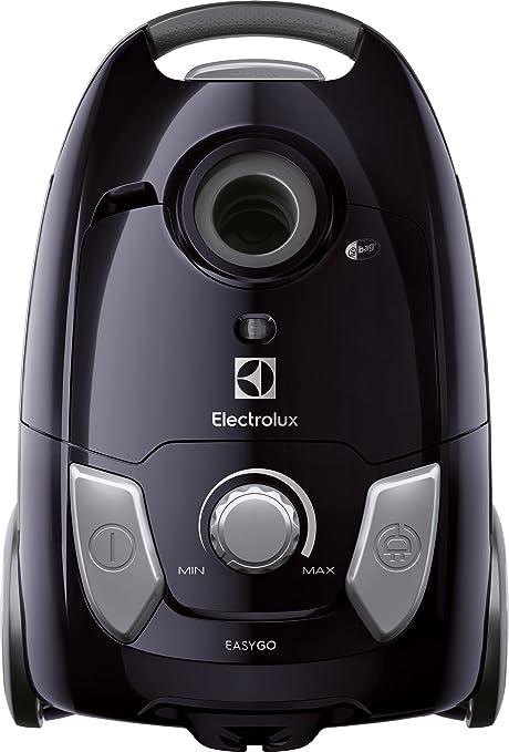 Electrolux EEG42EB - Aspiradora con Bolsa Easygo, Hygiene Filter 12, Cepillo parquet, 650 W, 3,5 litros, Negro: Amazon.es: Hogar