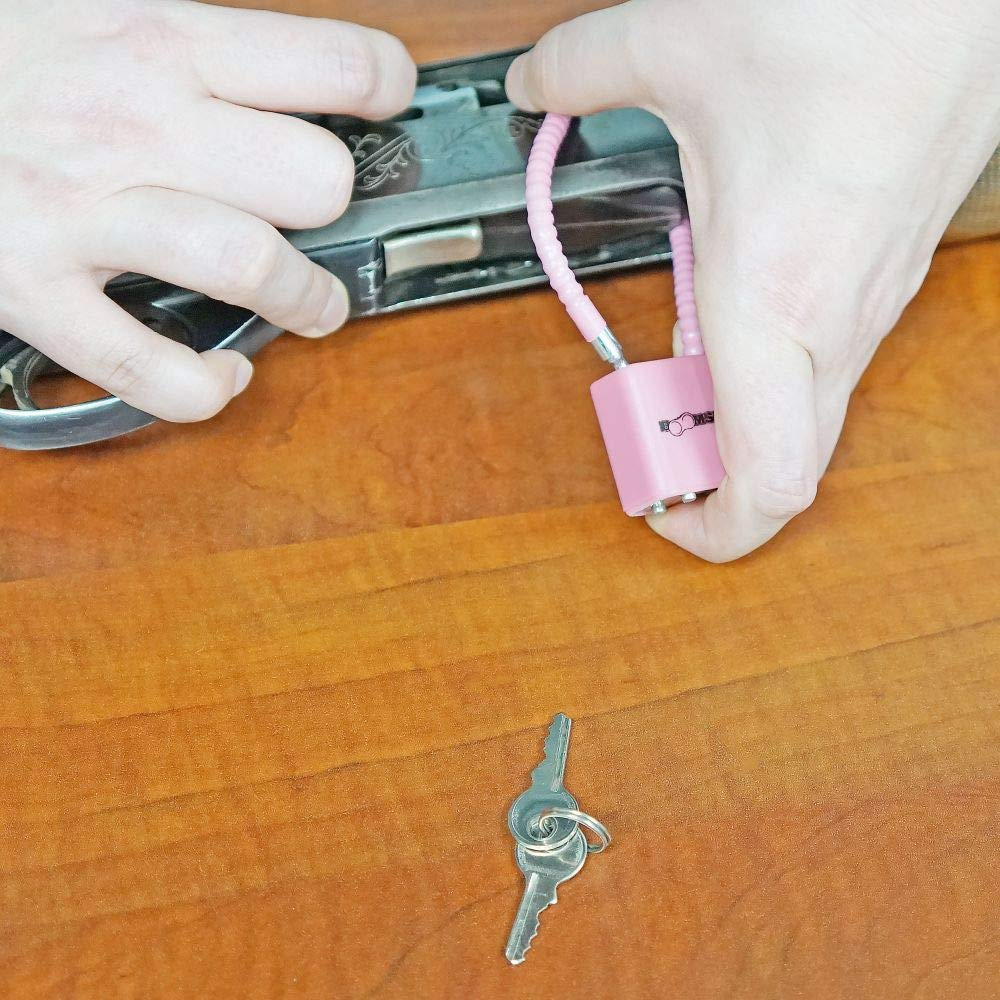 5.2mm 8.5 Pink Cable Lock