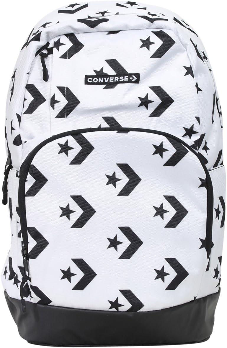 Converse Boy's Star Chevron White Black Backpack