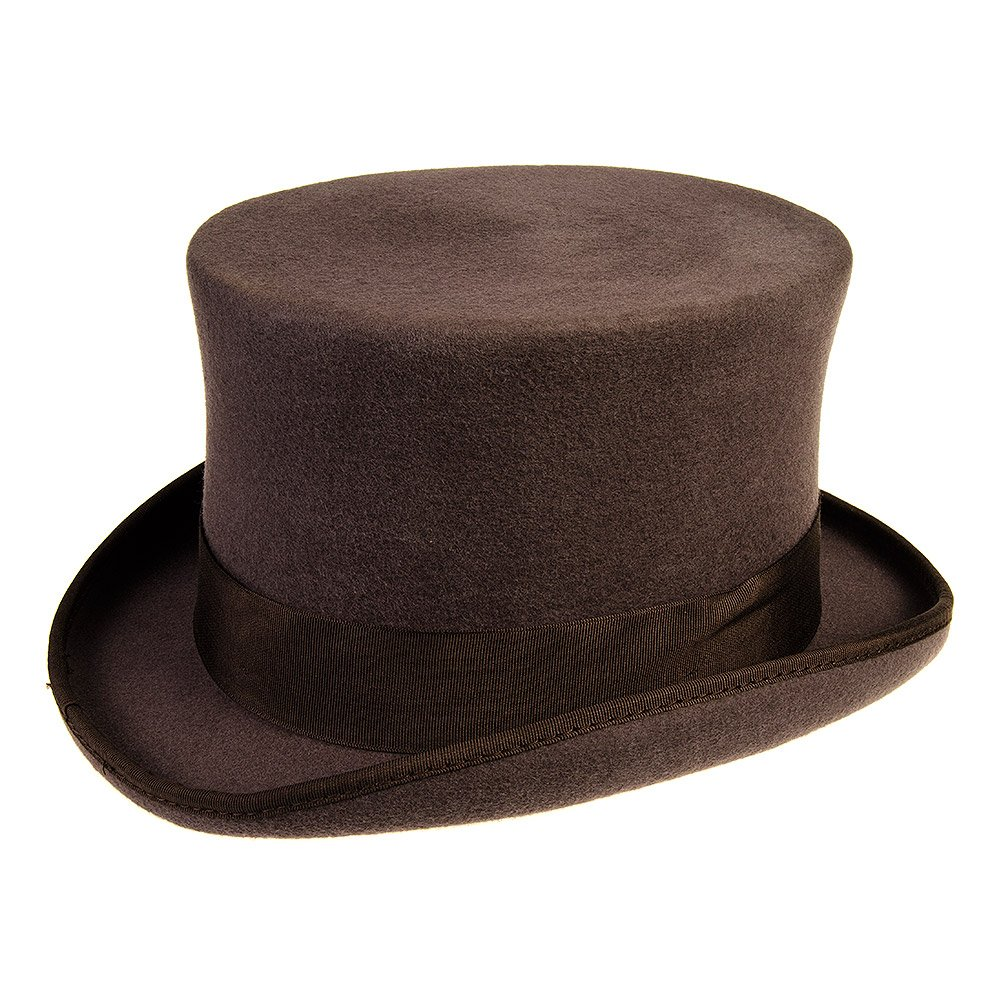 Marrone Small Major Wear Cappello Cilindro Classico