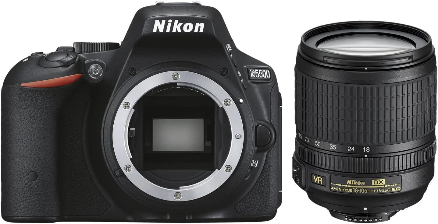 Nikon D5500 + AF-S DX 18-105 VR Juego de cámara SLR 24,2 MP CMOS ...