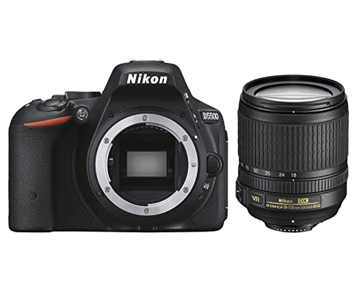 64 opinioni per Nikon D5500 + Nikkor 18-105 VR Fotocamera Reflex Digitale, 24,2 Megapixel, LCD