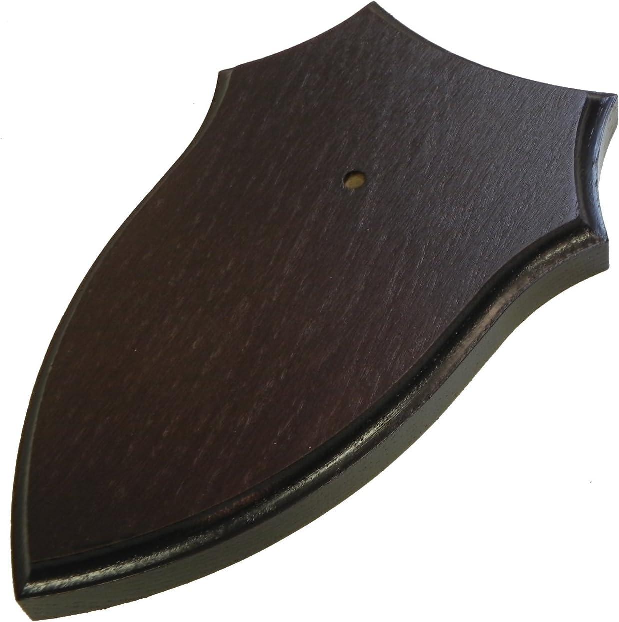 Trofeo Cartel Corzo geh/örn Tabla roble oscuro