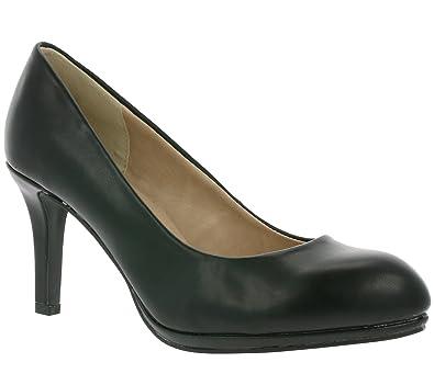 66ba483956c501 Arizona Pumps Lackpumps High Heels beige schwarz  Amazon.de  Schuhe ...
