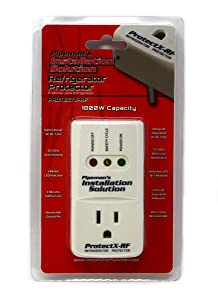 Pipeman's Installation Solution 1800 Watts Refrigerator Voltage Protector Brownout Surge Appliance (New Model)