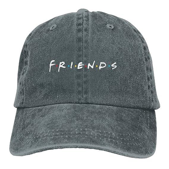 Amazon.com: Friends TV Show Adult Hats Unisex Fashion Plain Cool Adjustable Denim Jeans Baseball Cap Cowboy: Clothing