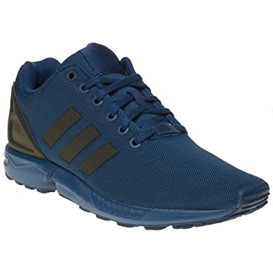 info for 25791 eba0d Adidas Zx Flux Garcon Baskets Mode Bleu Amazon.fr Chaussures