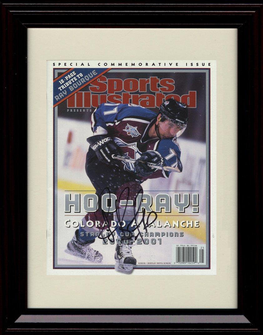 【日本限定モデル】 Framed Colorado Ray Bourque Sports Illustrated B00PLCNXIS Autographレプリカ印刷 – Colorado Avalanche Bourque Champs。 B00PLCNXIS, MASPHALTO:54c44dbc --- arianechie.dominiotemporario.com