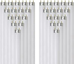 Sunlite F17T8/SP841 17-Watt T8 Linear Fluorescent Light Bulb Medium Bi Pin Base, 4100K, 30-Pack