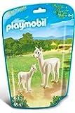 Playmobil - 6647 - Le Zoo -Alpaga Et Son Petit