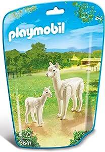Playmobil Alpaca With Baby 6647 Animal Kingdom - Multi Color