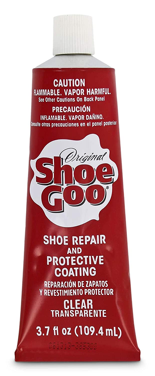 3586481c2814a Shoe Goo Repair Adhesive for Fixing Worn Shoes or Boots, Clear, 3.7-Ounce  Tube