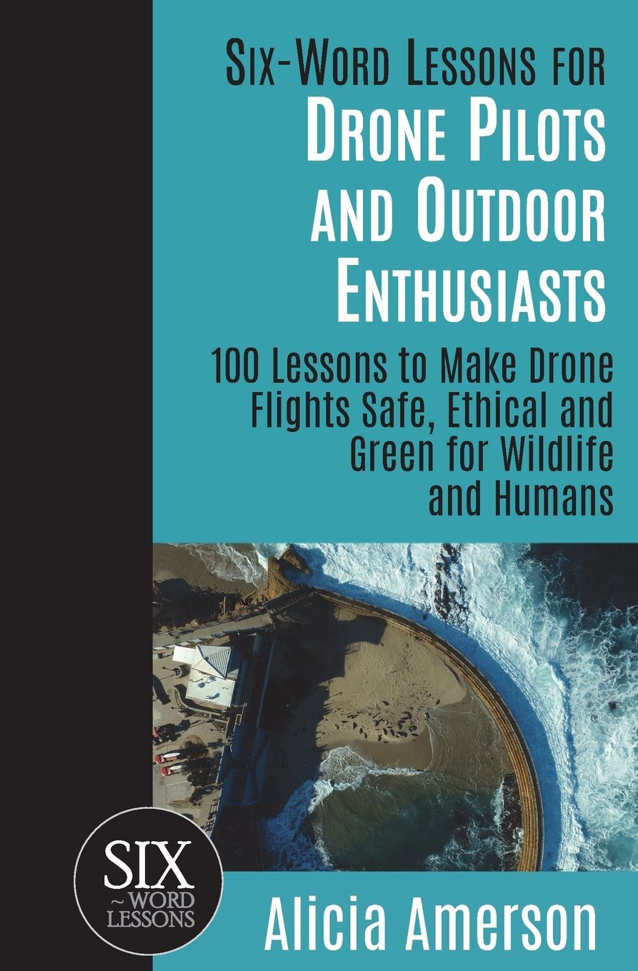 Six-Word Lessons for Drone Pilots and Outdoor Enthusiasts: 100 Lessons to Make Drone Flights Safe, Ethical and Green for Wildlife and Humans (The Six-Word Lessons Series) ebook