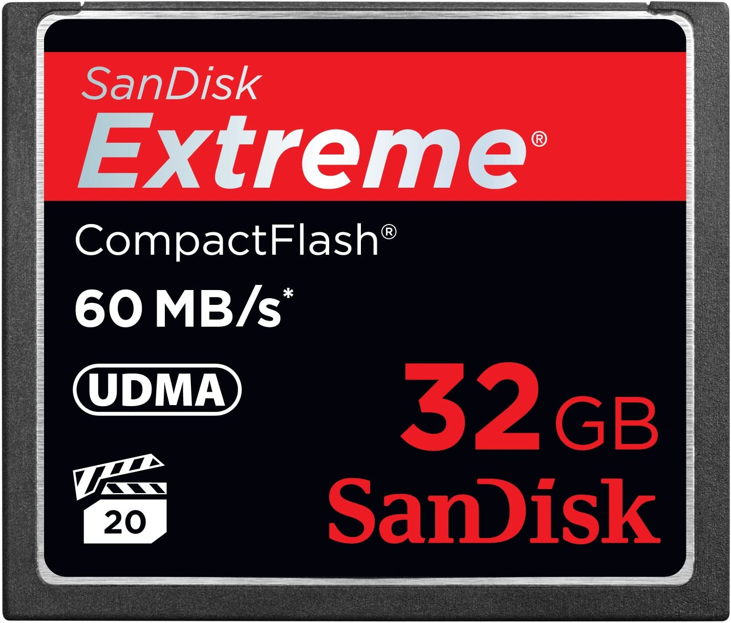 SDCFX-004G-X46 SanDisk Extreme 4GB CompactFlash Memory Card
