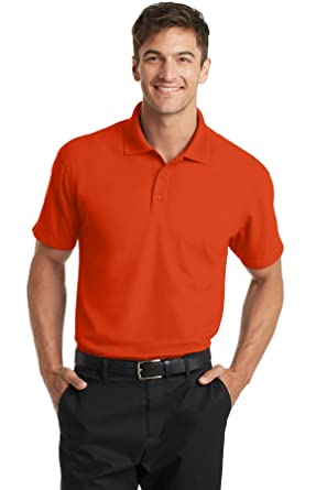 0f935660 Port Authority Men's Dry Zone Grid Polo at Amazon Men's Clothing store: