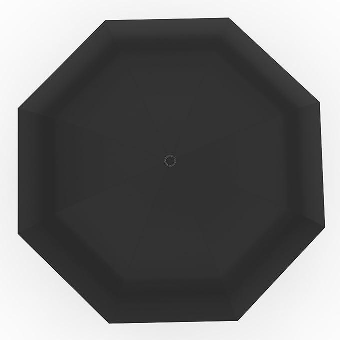 Amazon.com: Paraguas – Pequeño y ligero Negro Plegable ...