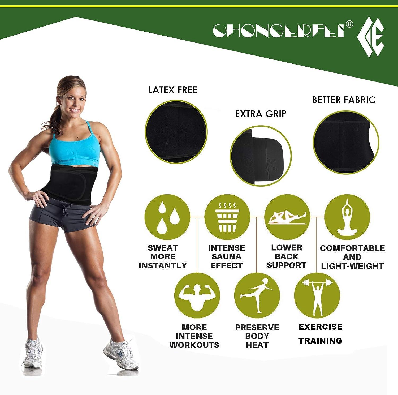 Amazon.com: Cinturón para entrenamiento de cintura, para ...