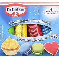 Dr. Oetker - Colorantes Alimentarios 4 x 10 g