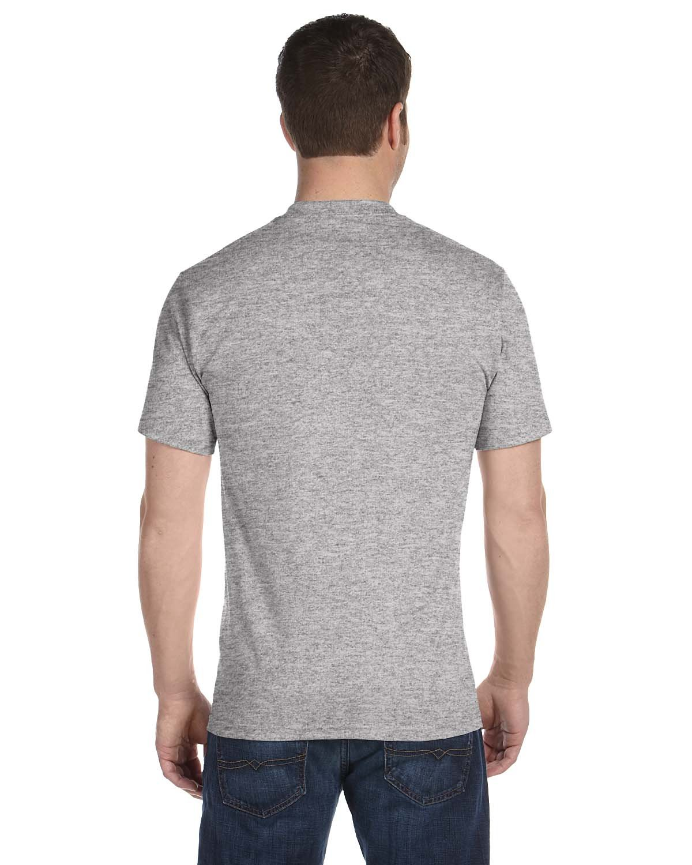 Hanes メンズ Tシャツ ラベルなし 柔らかくて快適 丸首(5枚入り) B06XJ86LN4 Medium|ブラック&グレー ブラック&グレー Medium
