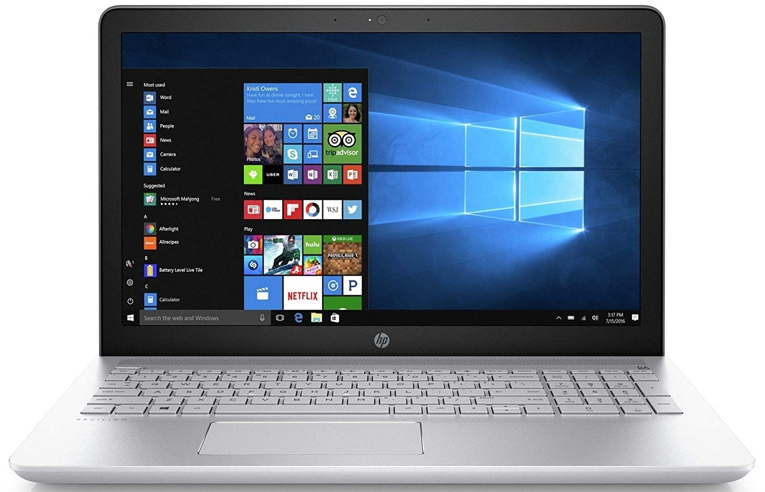Buy HP Pavilion 15-cc102TX 2017 15.6-inch Laptop (8th Gen Core  i5-8250U/8GB/1TB/Windows 10 Home/2GB Graphics), Mineral Silver Online at  Low Prices in India ...