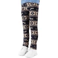 YFPICO Leggings con Estampado de Invierno para Niñas Mallas Cálidas de Invierno y Otoño para Niños Pantalones Térmicos…