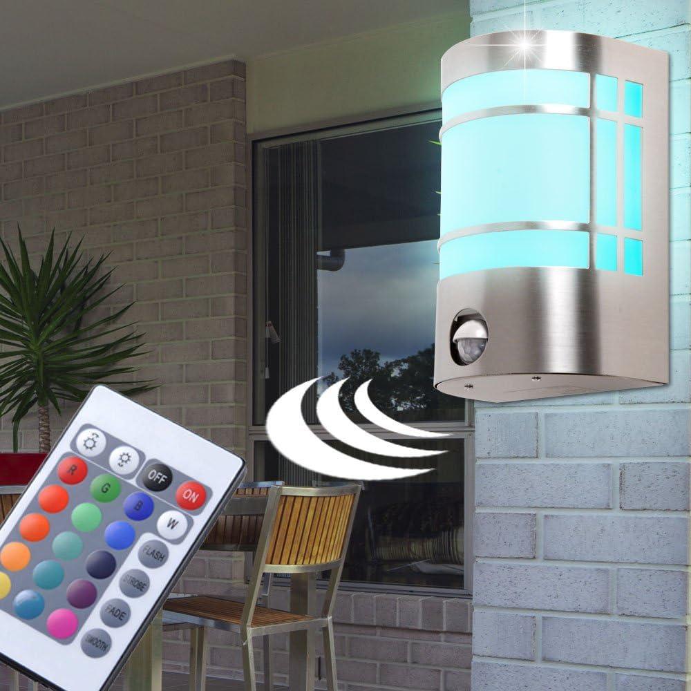 50 Watt LED ALU Wand Strahler Außen Beleuchtung Garten Spot Hof Lampe beweglich
