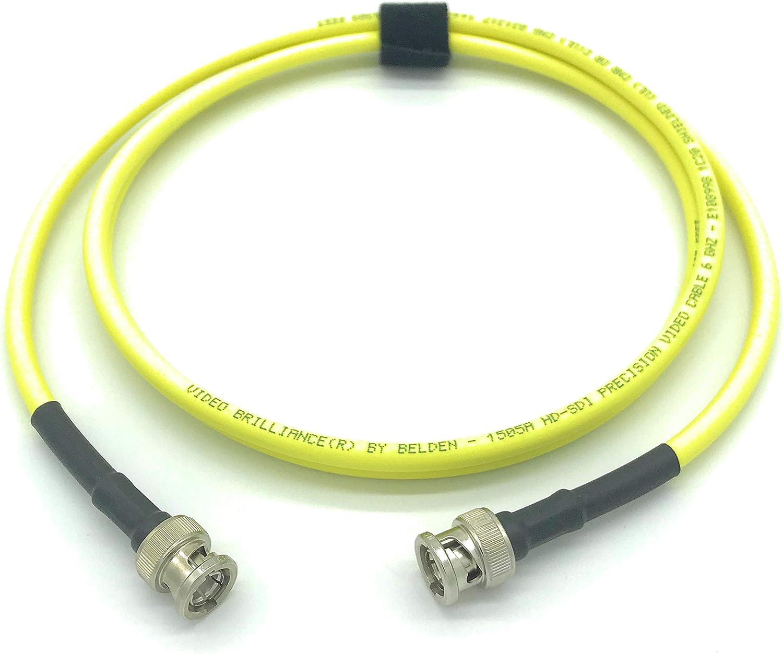 100 Ft Belden 1505A SDI-HDTV RG59 BNC Cable