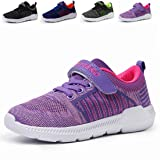 Vivay Kids Tennis Shoes Breathable Athletic Running Sneakers for Boys & Girls Purple