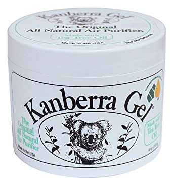 KANBERRA GEL 524002 - Purificador de aire natural de gel, 113 g ...