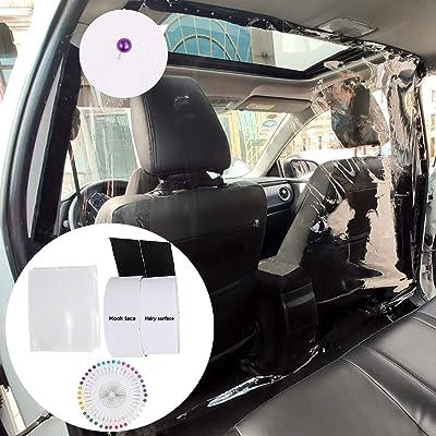 JANYUN Car Taxi Isolation Film,Transparent Plastic Full Surround Protective Membrane Film,PE Material Non-Toxic Automobile Isolation Film,1.41.8M: Automotive