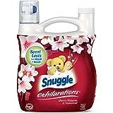 Snuggle Exhilarations Liquid Fabric Softener, Cherry Blossom & Rosewood, 96 Fluid Ounces