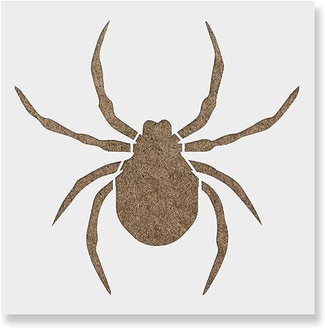 Spider Stencil Reusable Stencils of Spider in Multiple Sizes