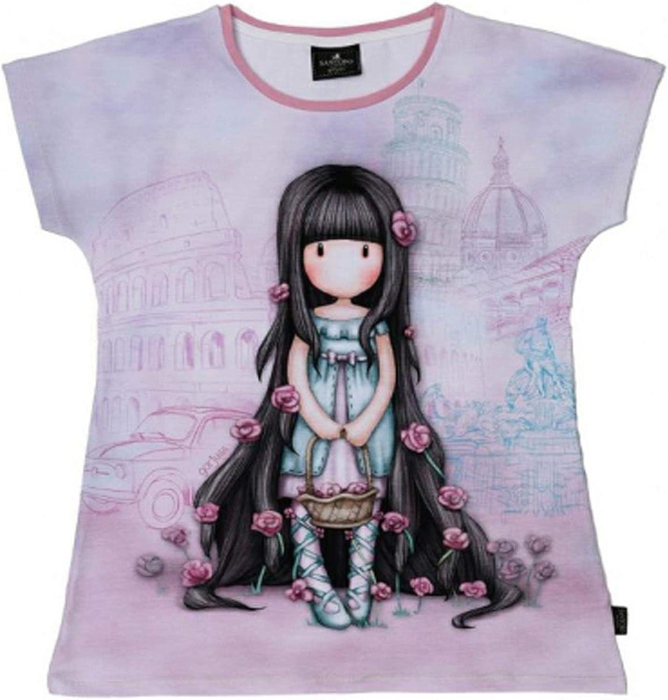 Maglietta//t-Shirt Santoro Gorjuss 10 Anni Taglia 6-8-10-12 Anni