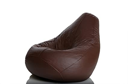 Offer Get upto 60% off on Furniture Comfy Bean Bags XL Bean Bag without Fillers Cover (Brown)