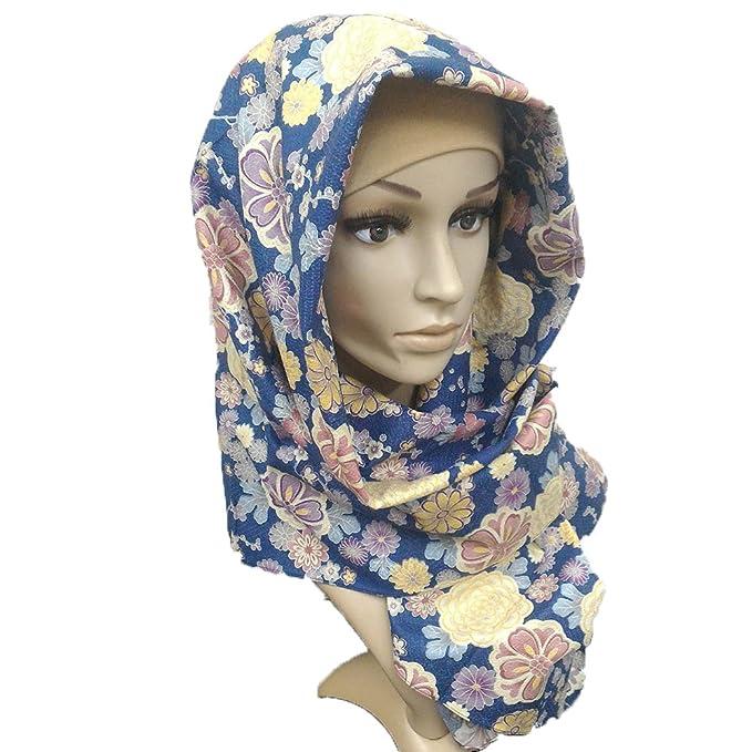 465123db2ee7 Amazon.com: Japanese Kimono style hijab made in Japan (Dalia Navy ...