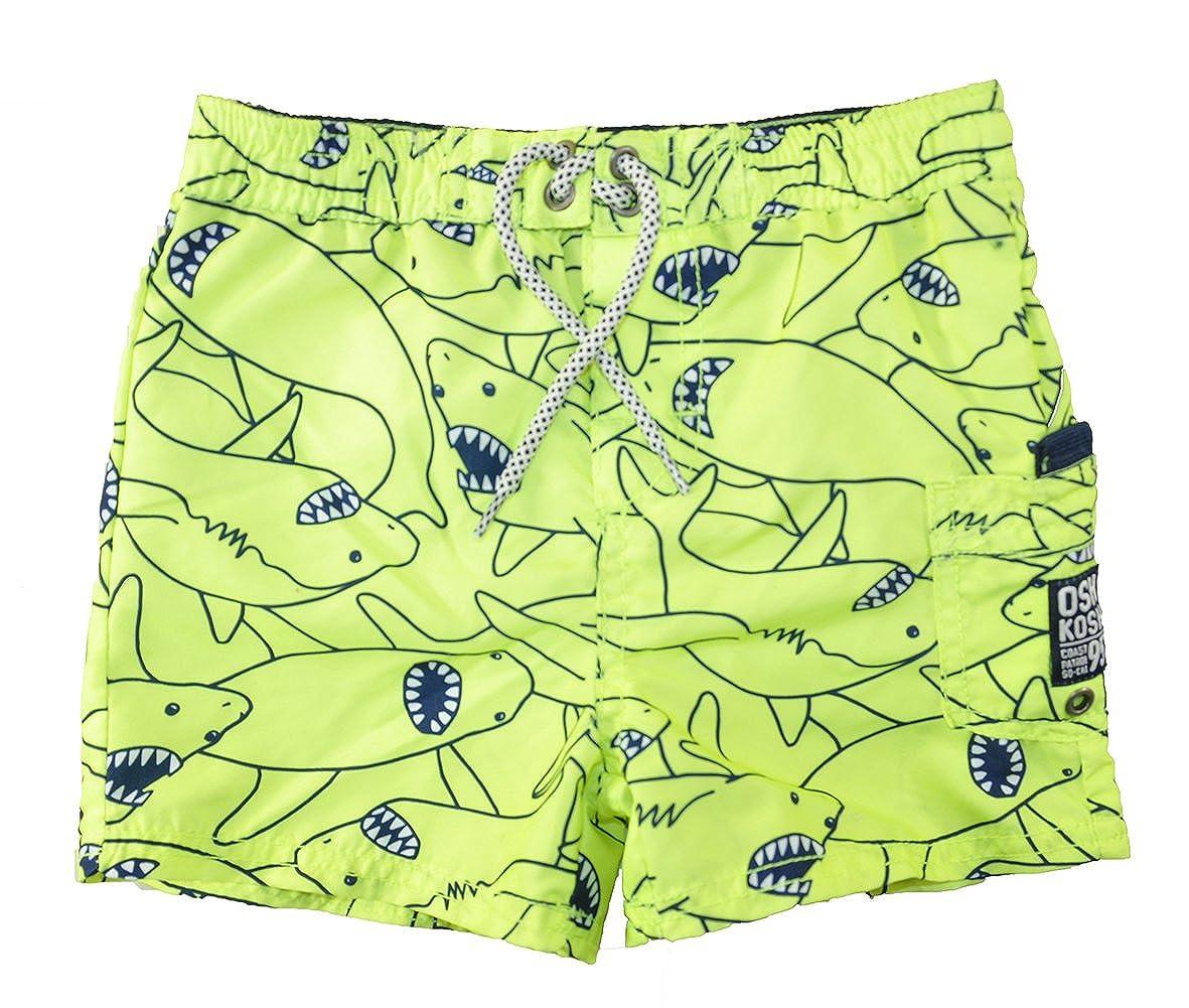 OshKosh B'Gosh Osh Kosh B'gosh Baby Boys Infant Lemon Printed Swim Short SB178542