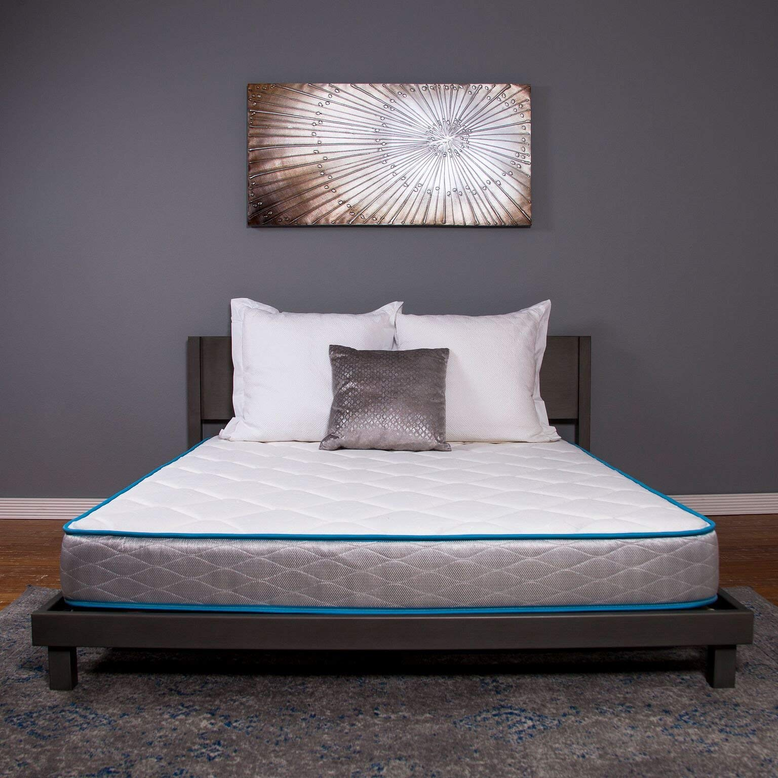Dreamfoam Bedding Doze 7'' Mattress-Medium Comfort, Twin- Made in the USA