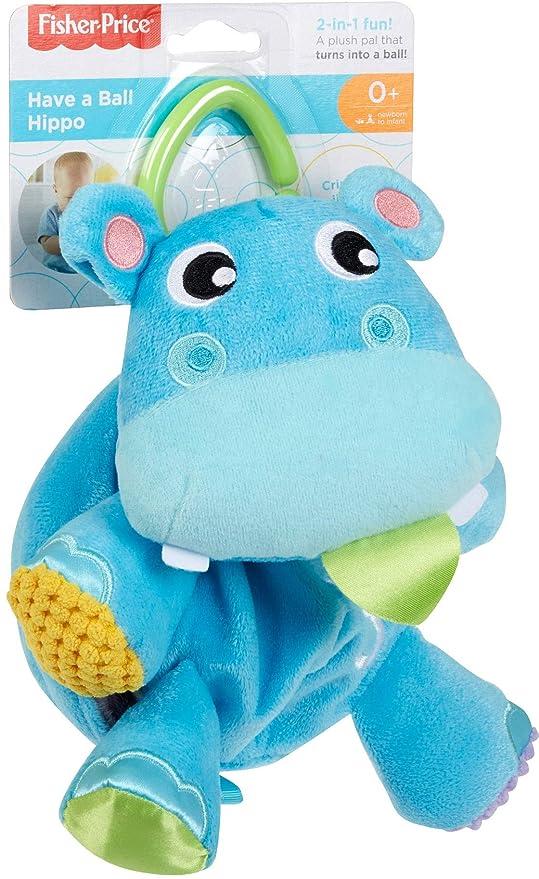 Amazon.com: Fisher-Price fxb95 bola hipopótamo, multicolor ...